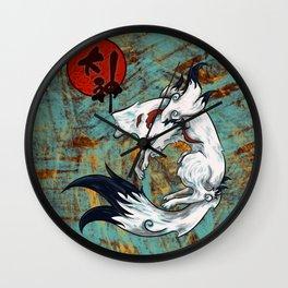Okami Amaterasu Wall Clock