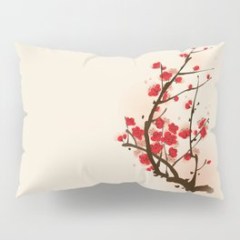 Oriental plum blossom in spring 012 Pillow Sham