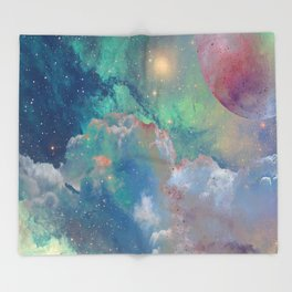 Out There Throw Blanket