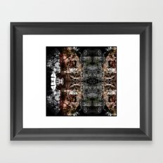OR/WELL  darkCHIP Framed Art Print