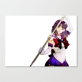 Guardian of Silence - Sailor Saturn Canvas Print