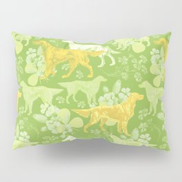 SETTERS ON THE MEADOW Pillow Sham