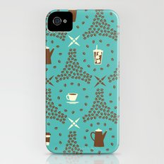 Coffee Hour Slim Case iPhone (4, 4s)