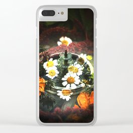 Coming up Daisies Clear iPhone Case