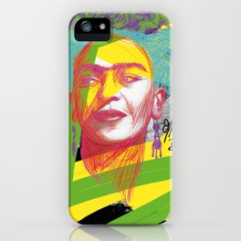 La Frida de Khalo iPhone Case