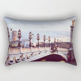 Pont Alexandre III Paris. Rectangular Pillow