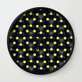 Bubble Compound Wall Clock