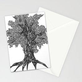 Gnarled Oak Tree Stationery Cards