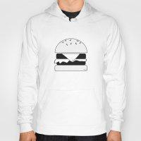 burger Hoodies featuring Burger  by Keep It Simple