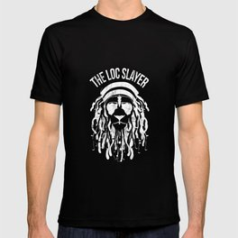 Natural Hair Locs Tshirt Distressed Dreadlocks T-shirt