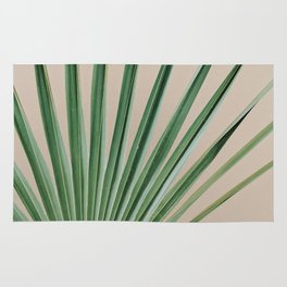 Peachy Palm with Stem Rug