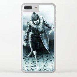 Jon the bastard son! Clear iPhone Case