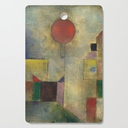 Red Balloon by Paul Klee Cutting Board
