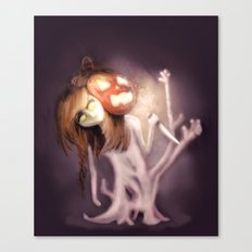 Dreaming of Halloween Canvas Print