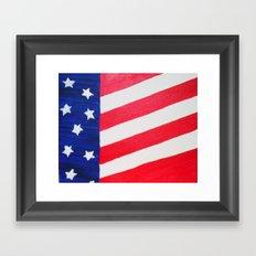 Patriotic Me! Framed Art Print
