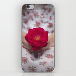 Single Rose iPhone Skin