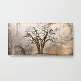 WAY THROUGH THE FOREST Metal Print