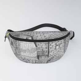 the old farmhouse Fanny Pack