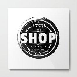The Shop Atlanta Metal Print