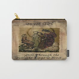 Sulamith Wulfing - Sweet Girl Lyrics Inspired by Stevie Nicks Carry-All Pouch
