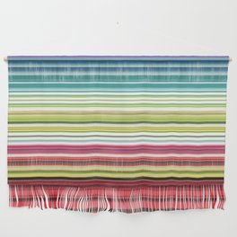 Electric Ecletic Wall Hanging