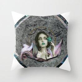 Temptress Throw Pillow