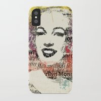 monroe iPhone & iPod Cases featuring MONROE by Smart Friend
