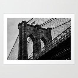 Brooklyn Bridge 5 Art Print