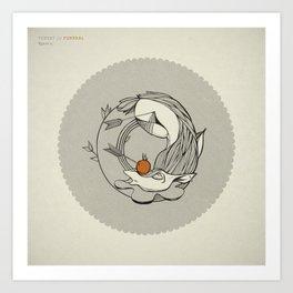 Forest /// Funeral Art Print