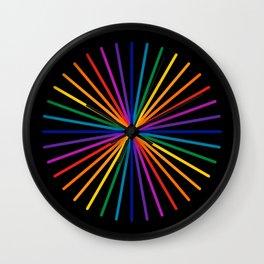 Spectrum Starburst Wall Clock