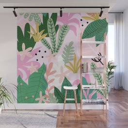 Into the jungle - sunup Wall Mural