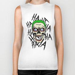 Laughing Skull Biker Tank