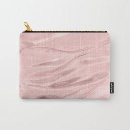 Rose Quartz Satin Carry-All Pouch