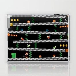 Super Mario x Donkey Kong level mockup Laptop & iPad Skin