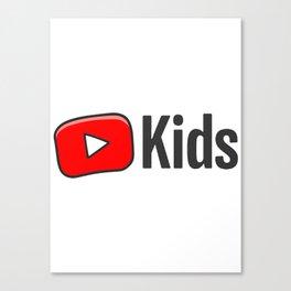 Youtube Kids Canvas Print