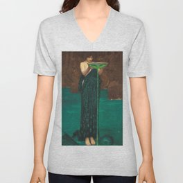 John William Waterhouse - Circe Invidiosa Unisex V-Neck