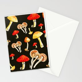 Brigt Mushrooms Stationery Cards