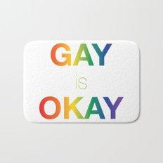 Gay is Okay Bath Mat