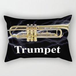 Shockingly Brilliant Trumpet  Rectangular Pillow
