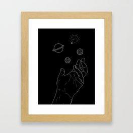 Gravitas Framed Art Print