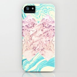 The X Marble File iPhone Case