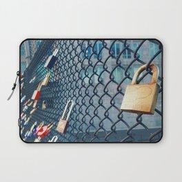 Heart on Lock  Laptop Sleeve