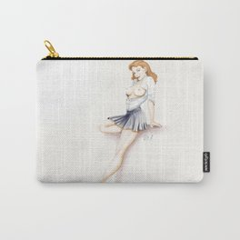 Pinup - sexy uniform Carry-All Pouch