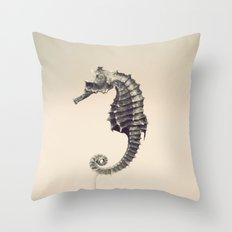 Water Pony Throw Pillow