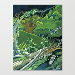 Fallen Giants Canvas Print