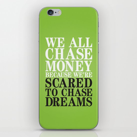 Dreamchaser iPhone & iPod Skin