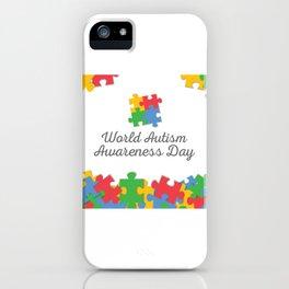 Child Health Day (Autism) 4 iPhone Case