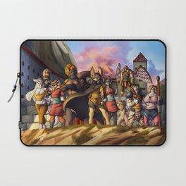 Menacing defense Laptop Sleeve