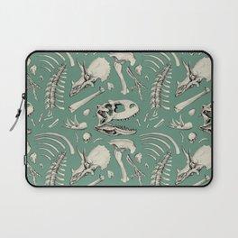 Dinosaur bones sage Laptop Sleeve