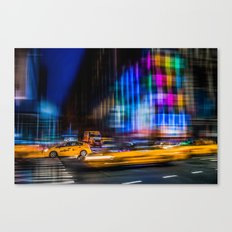 A colorful town Canvas Print
